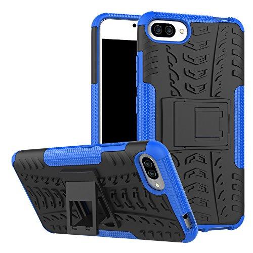 OFU®Para Asus ZenFone 4 Max ZC520KL Smartphone, Híbrido caja de la armadura para el teléfono Asus ZenFone 4 Max ZC520KL resistente a prueba de golpes contra la lucha de viaje accesorios esenciales del azul