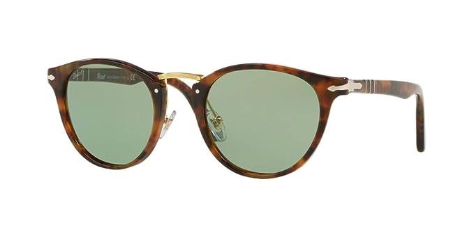 Persol 0PO3108S Gafas de sol, Wrap, 49, Caffe: Amazon.es ...