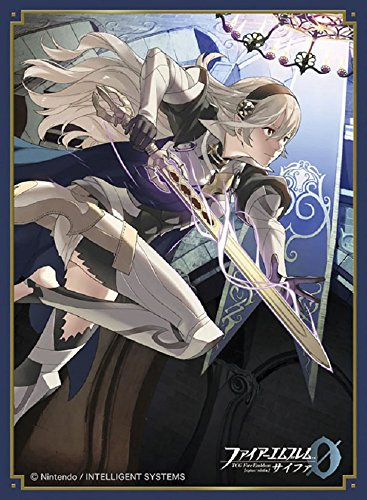 Fire Emblem 0 Cipher Princess Corrin Female Card Game Character Mat Sleeves Collection No.FE10 Matte Anime Girl Fates Avatar Kamui 10 by Movic ()