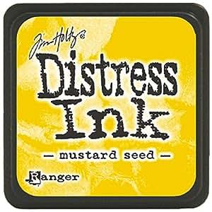 Distress Mini Ink Pad-Mustard Seed