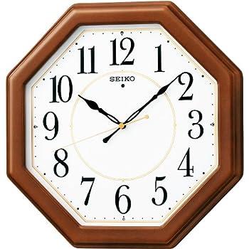 Amazon Com Seiko Clock Seiko Clock Wooden Frame