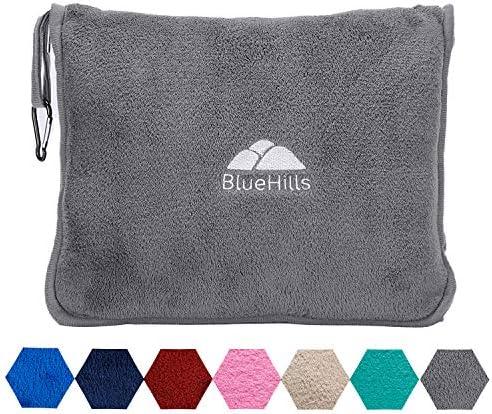 BlueHills Premium Blanket Airplane Backpack