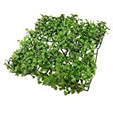 Uxcell Jardin Plastic Grass Lawn Mat Turf Ornament for Aquarium, 8.7 by 8.7 by 1-Inch, Green