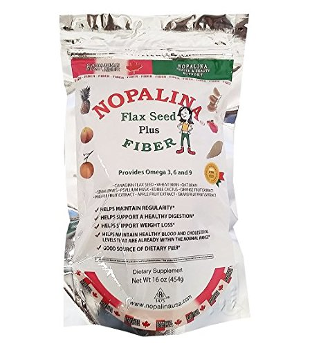 Great Plains Industries Nopalina Flax Seed Plus Fiber 1lb