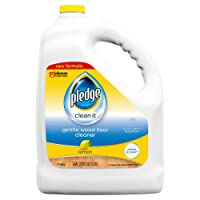 Deals on Pledge Wood Floor Cleaner Liquid, Shines Hardwood 1 Gallon