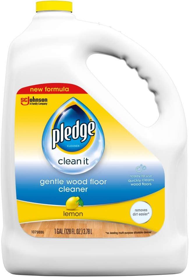 Pledge Wood -best cleaner for laminate floors