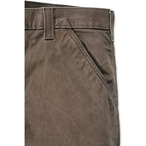 Carhartt Men's Relaxed Fit Washed Twill Dungaree Pant