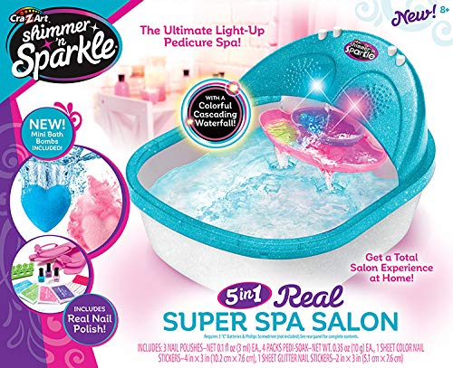 Cra-Z-Art Shimmer N' Sparkle Super Spa Salon - Pedicure for sale  Delivered anywhere in USA