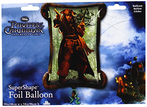 (Giant Pirates Of The Caribbean Foil Balloon)