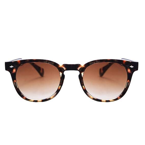 KISS Gafas de sol estilo MOSCOT mod. DEPP Humo Degradado - VINTAGE Johnny Depp hombre mujer CULT unisex