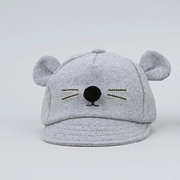 Infantil Baby Gato oído visera algodón gorro recién nacido sombrero ...
