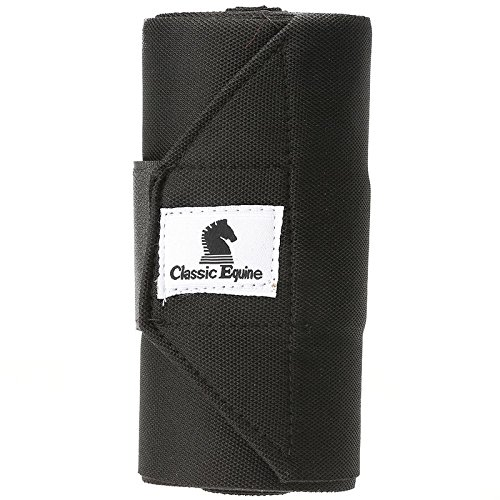 Pictures of Classic Equine Standing Wrap Bandage Black 4_PACK 1