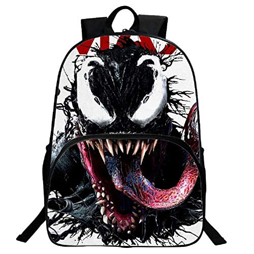 - GERGER BO Venom Backpack,Boys Venom School Backpacks Travel Backpack Book Bag for Kids