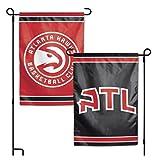 WinCraft NBA Atlanta Hawks 12.5'' x 18'' Inch 2-Sided Garden Flag Logo