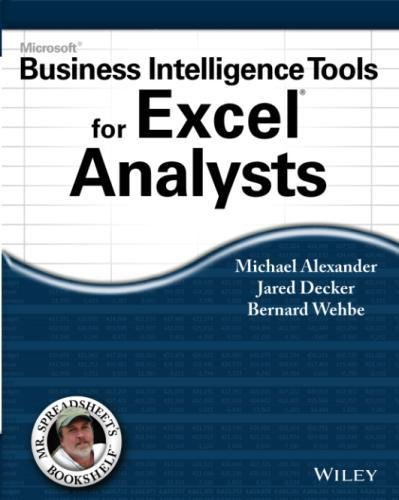 Microsoft Business Intelligence Tools for Excel Analysts by Wiley