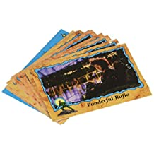 """Topps """"Hook"""" Trading Card Pack - 8 Glossy Movie Cards Plus 1 Sticker Per Pack"""