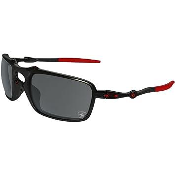 Oakley Badman 602007 Gafas de sol, Dark Carbon, 60 para ...