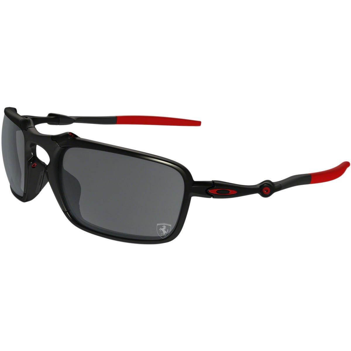 881b8c36e89 Amazon.com: Oakley Mens Badman Ferrari Sunglasses One Size Dark ...
