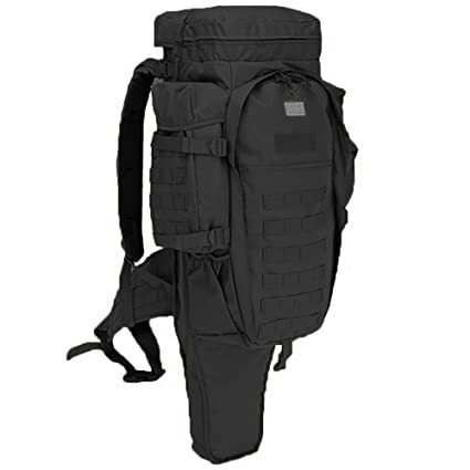 35394b1847b7 Tactical Gun Backpack - Shooting Rifle Pistol Gun Range Bag Pack - Heavy  Duty Military Backpacks Large 3 Day Assault Pack Army Molle Bug Out Bag  Rucksack ...