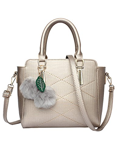 sac sac fourre à tout cuir brillant Menschwear en femme doré neuve bandoulière pour bleu AwCqUY