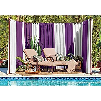 Amazon Com Pro Space Outdoor Privacy Screen Curtains