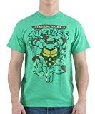 Teenage Mutant Ninja Turtles Men's Raphael Vintange T-Shirt, Kelly Heather, Small