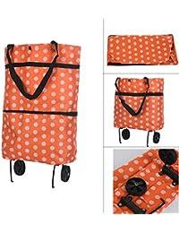 Handbag,Light Weight Folding Foldable Shopping Cart Luggage Travel Bag Trolley On Wheels Folding Shopping Bag