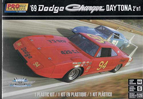 - Revell 4413 69 Dodge Charger Daytona 2 in 1 Model Car Kit