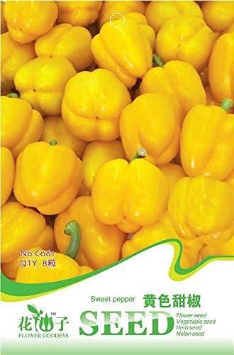 Mezcla de semillas Corona Guindilla de Bishop, Bulk Pack, 200 semillas / pack, raras Trinidad OVNI Pimientos KK005 comestible: Amazon.es: Jardín