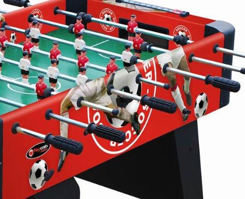 Playcraft Sport Foosball Table, Red, 48-Inch