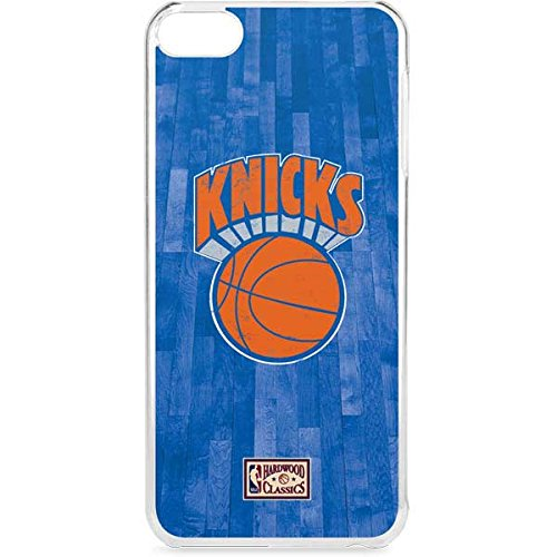 Skinit NBA New York Knicks iPod Touch 6th Gen LeNu Case - New York Knicks Hardwood Classics Design - Premium Vinyl Decal Phone Cover by Skinit