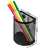 Magnetic Pencil Holder, Mesh Storage Baskets with
