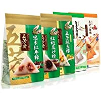 五芳斋粽子简装组合包1120g (10枚粽子,2枚咸鸭蛋)(非礼盒装,简单包装)