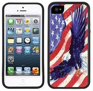 American Eagle Flag USA Handmade For SamSung Galaxy S6 Case Cover Black Case