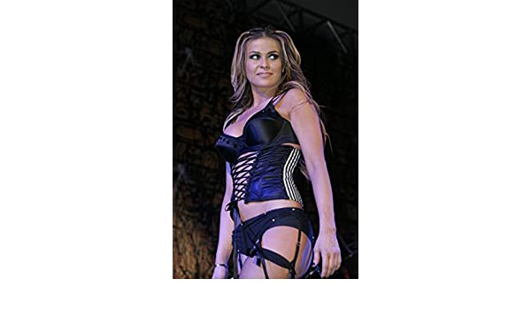 64d914020 Carmen Electra performing in lingerie and stockings side shot 8 inch by 10  inch PHOTOGRAPH TL at Amazon s Entertainment Collectibles Store