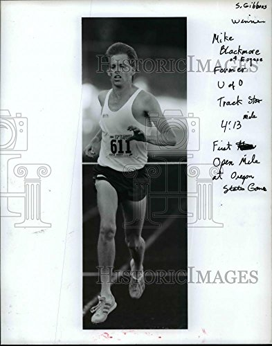 Press Photo Winner Mike Blackmore of Eugene Former Univ. of Oregon Track Star -
