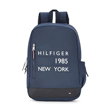 67671c3465d Tommy Hilfiger 22 Ltrs Navy Casual Backpack (TH/HIL08BP01): Amazon ...