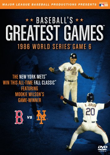 BASEBALL'S GREATEST GAMES: 1986 WORLD SERIES GAME 6