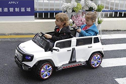 Ride on car Heavy power wheels Jeep 4 doors car Style. 2 ...
