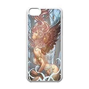 Fairy Sexy Women Ass IPhone 5C Case, Case Kweet {White}