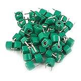 DealMux a11061800ux0090 30pF plástico verde condensadores de ajuste ajustable, 50 piezas