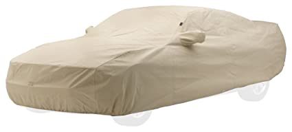 Covercraft Ctk Custom Fit Car Cover For Ford Mustang Technalon Evolution Fabric Tan