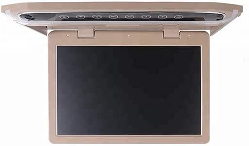 Monitor de TV para automóvil de 12V Tipo de Techo Pantalla Grande TFT de 12.1 Pulgadas HD 1080P Adecuado para USB HDMI SD FM Se Puede conectar al Disco Duro DVD del