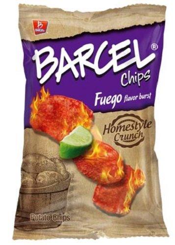 Barcel USA Potato Chips, Fuego, 4.1 Ounce
