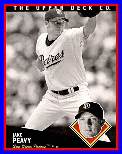 2008 Upper Deck Timeline #137 Jake Peavy san diego padres ()