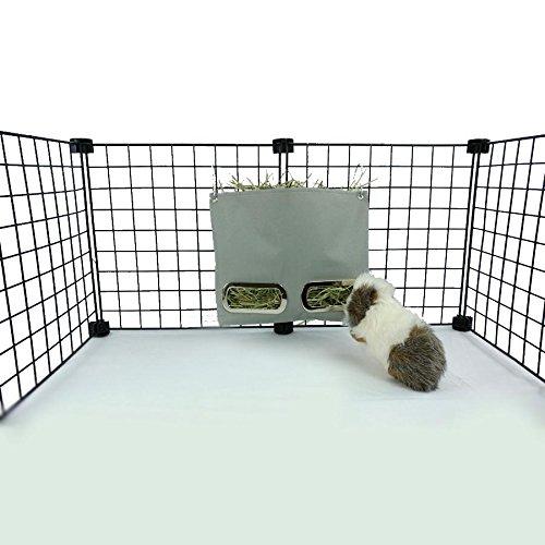 - Guinea Pig Hay Bag Feeder (Small, Grey)