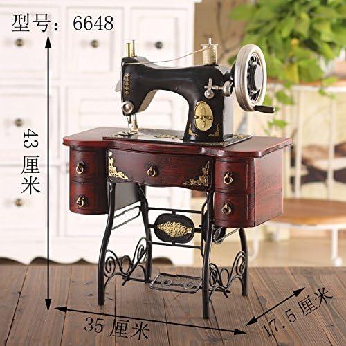 GFEI Nostalgia antigua maquina de coser modelo / retro tienda de ...