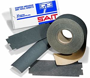 United Abrasives/SAIT 84059 3-5/16 by 50 S150C Dry Wall Sheets Roll