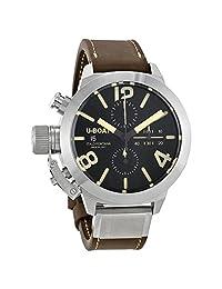 U-Boat Classico Tungsteno Cas1 Automatic Chronograph Mens Watch 7430