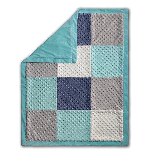 Mosaic Patchwork Blanket Peanut Shell product image